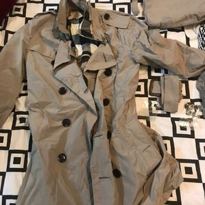 Burberry trench coat. Unused and authentic